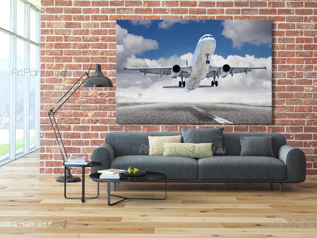 papier peint poster avion mcv1012fr. Black Bedroom Furniture Sets. Home Design Ideas