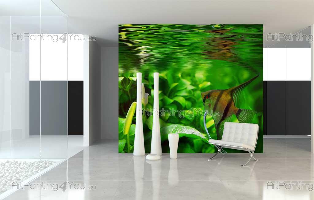 Wall Murals & Posters Fish Aquarium | ArtPainting4You.eu® | (MCVM1002en)