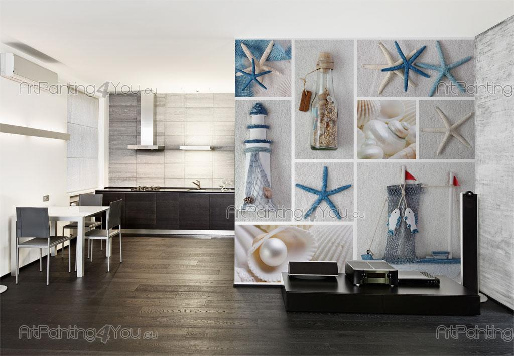 papier peint poster toiles de mer mcvm1010fr. Black Bedroom Furniture Sets. Home Design Ideas