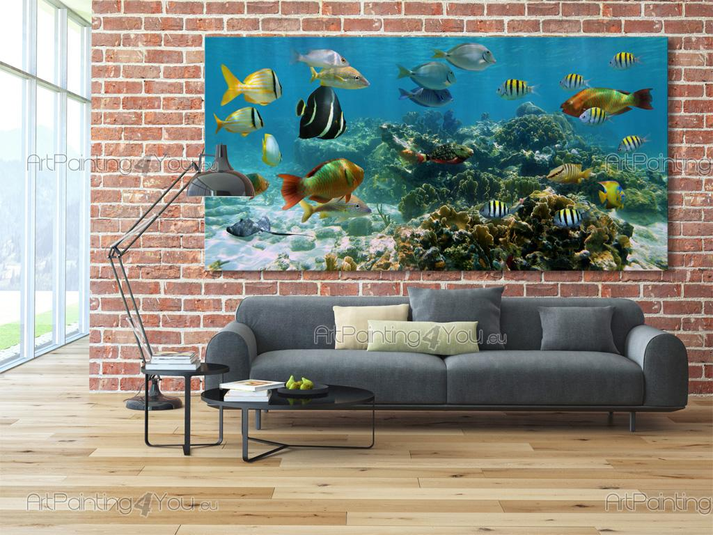 Wall Murals Amp Posters Underwater Life Artpainting4you Eu