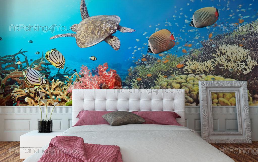 Underwater Wall Mural tropical sea life - wall murals & posters (mcvm1027en