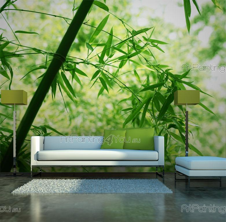 Wall murals zen spa canvas prints posters bamboo 866en for Poster mural geant zen