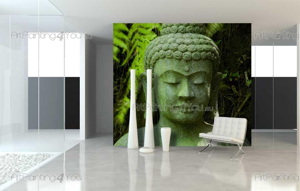 Wall murals zen spa canvas prints posters buddha for Buddha wall mural
