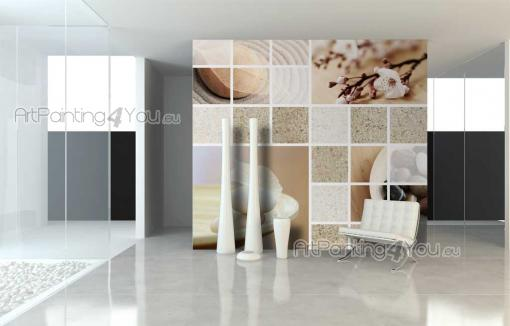 Wall murals posters zen spa stones artpainting4you for Poster mural zen deco