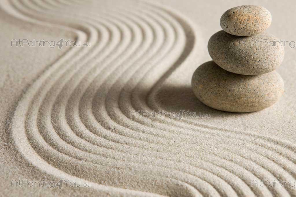 Murais de parede telas e posters seixos zen Fotos piedras zen