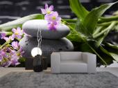 Zen Stones & Flowers - Zen and Spa Wall Murals & Posters