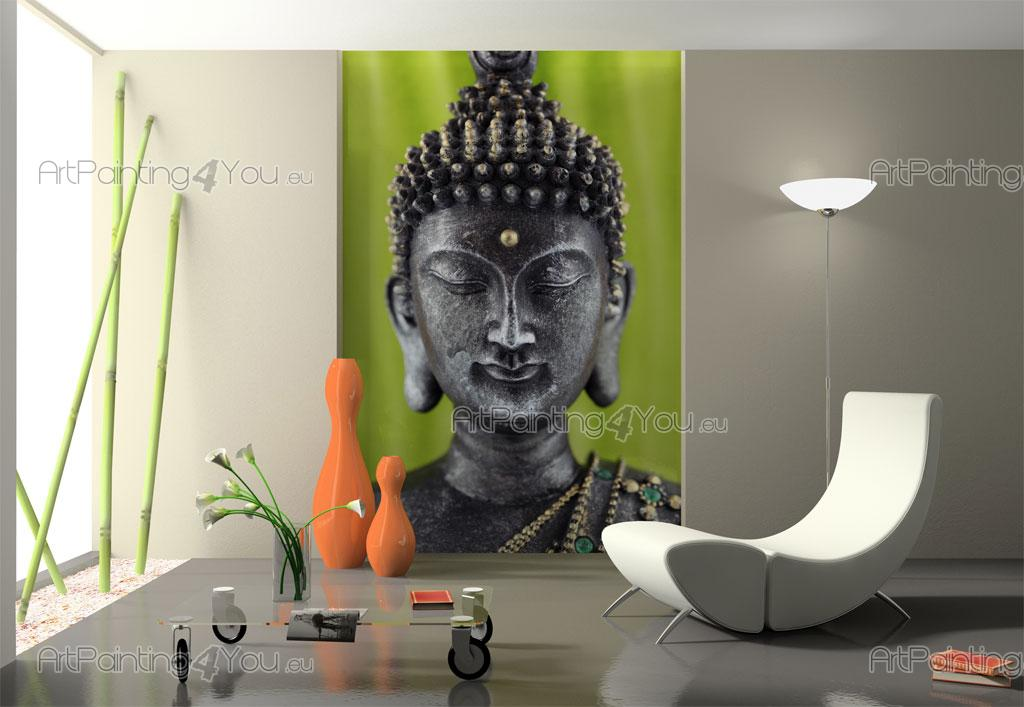 Wall murals posters buddha statue for Cheap wall mural posters