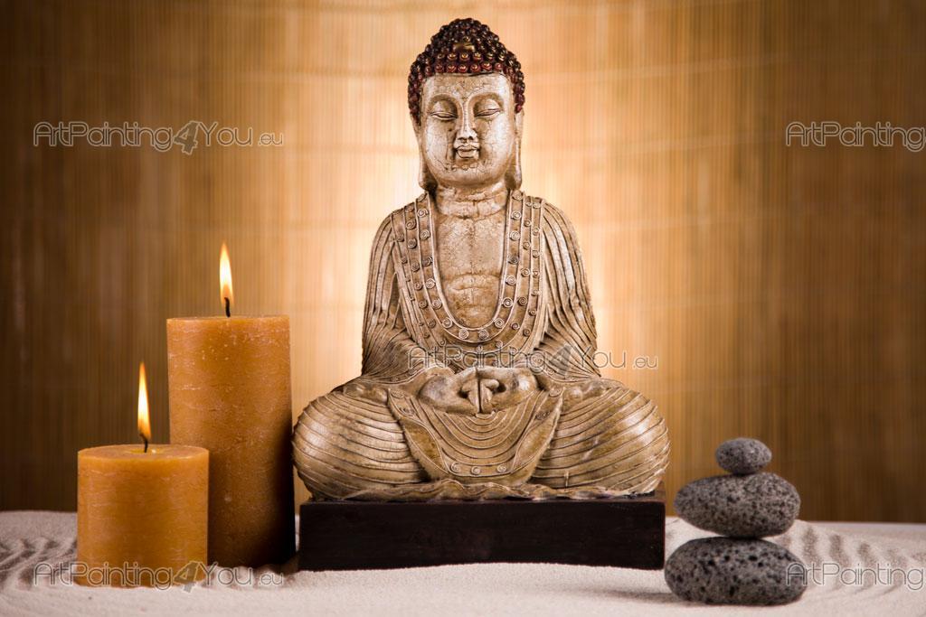 Fotobehang Amp Posters Boeddha Standbeeld Artpainting4you