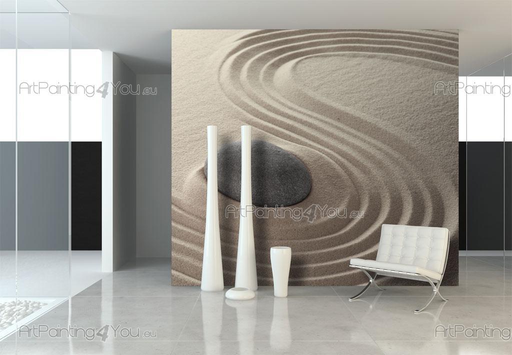 wall murals zen spa canvas prints posters zen stones 1630en. Black Bedroom Furniture Sets. Home Design Ideas