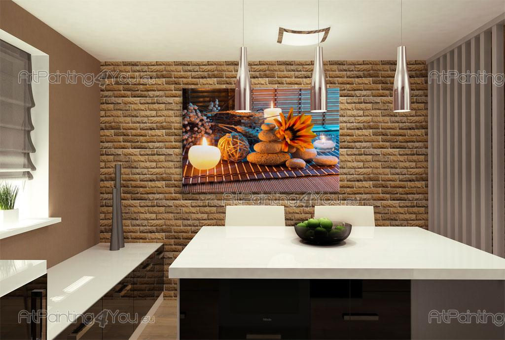 Väggdekor G : Zen stones u flowers and spa wall murals posters