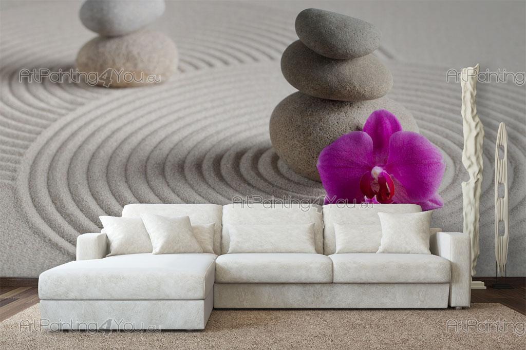 papier peint zen spa poster impression sur toile. Black Bedroom Furniture Sets. Home Design Ideas