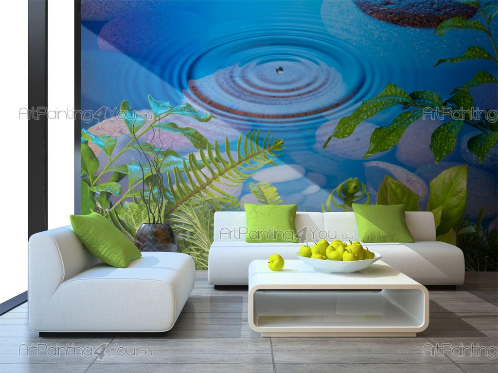 Wall Murals Posters Custom Size Fresh Leaves
