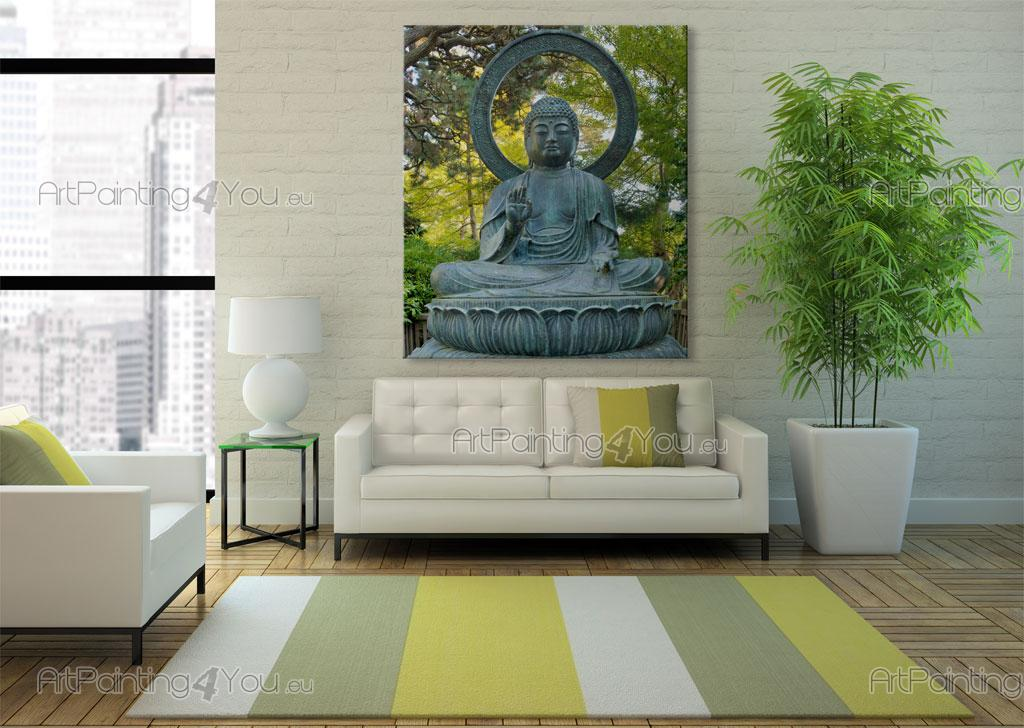 papier peint poster statue bouddha mcz1086fr. Black Bedroom Furniture Sets. Home Design Ideas