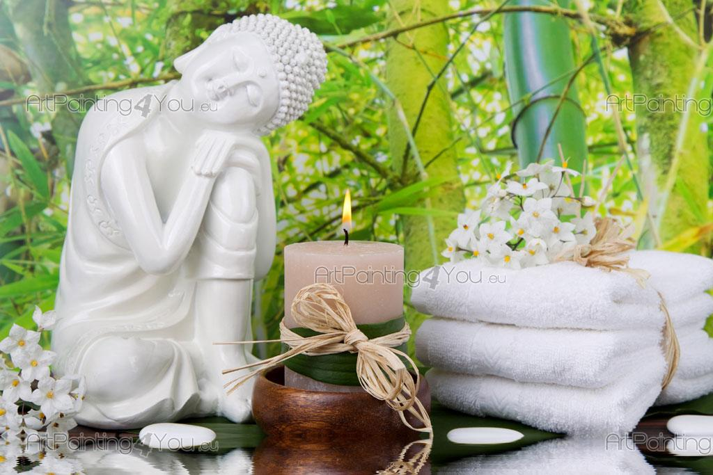 Buddha statue wall murals posters mcz1089en for Poster mural geant zen