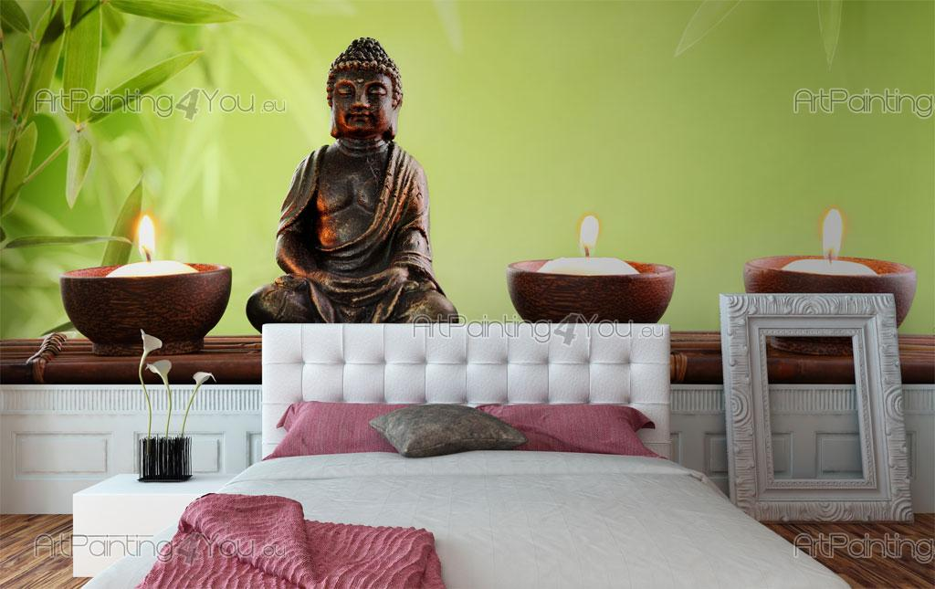 fabulous statue bouddha papier peint zen et spa u poster with poster mural bouddha. Black Bedroom Furniture Sets. Home Design Ideas
