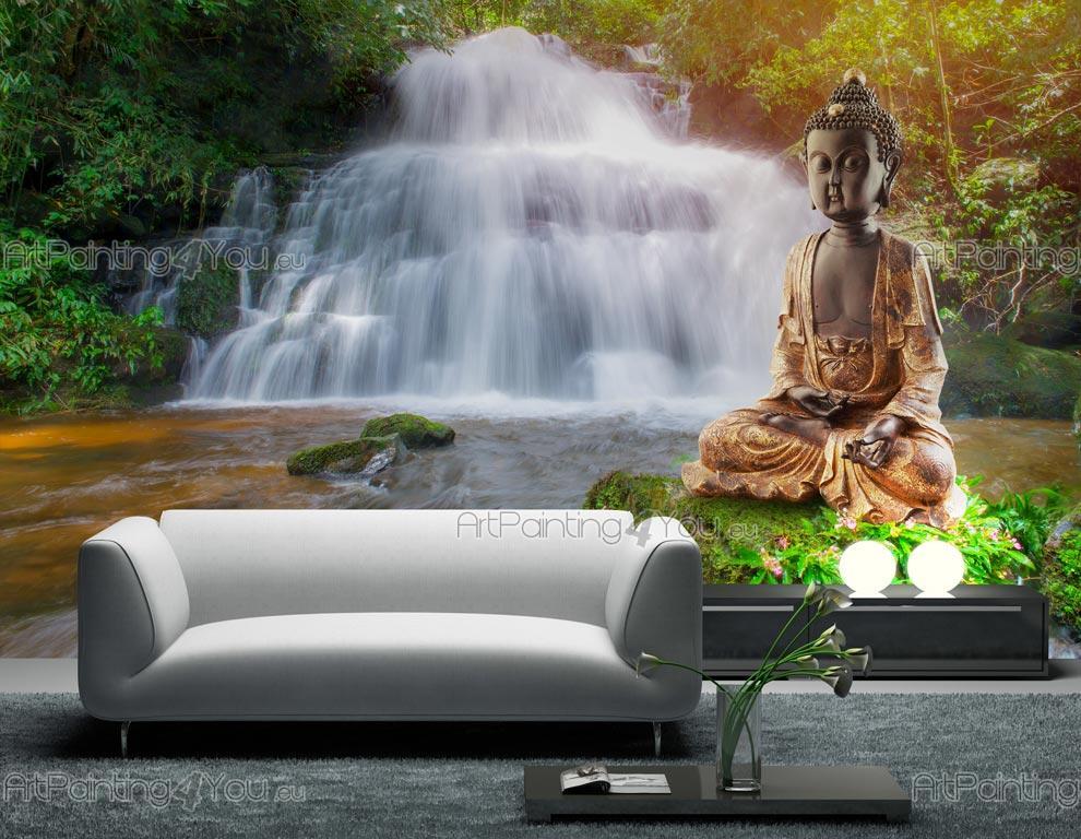 papier peint poster personnalis sur mesure statue. Black Bedroom Furniture Sets. Home Design Ideas