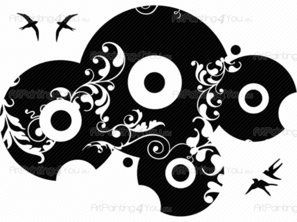 Adhesivos Decorativos Disco De Vinilo Artpainting4youeu