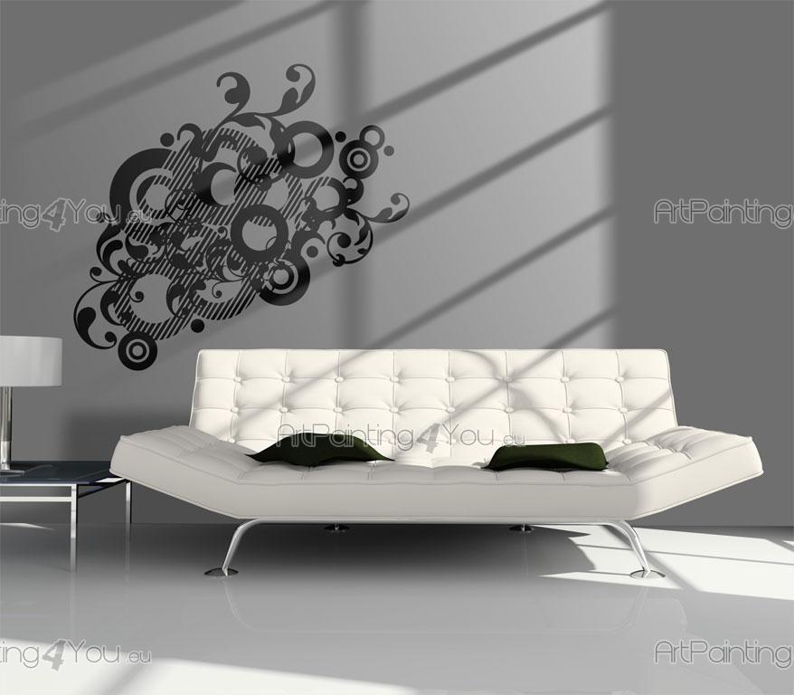 Vinilos decorativos abstracto disco 893es - Discos vinilos decorativos ...