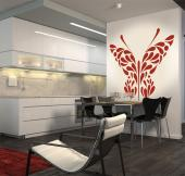 Abstract Butterfly - Butterflies Wall Stickers