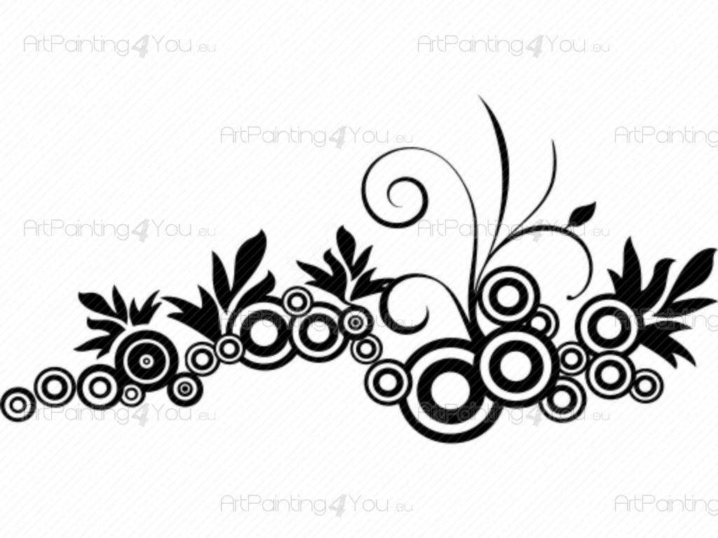 Attractive Wandtattoo Kreise Ideas Of - Abstrakt - Abstrakt
