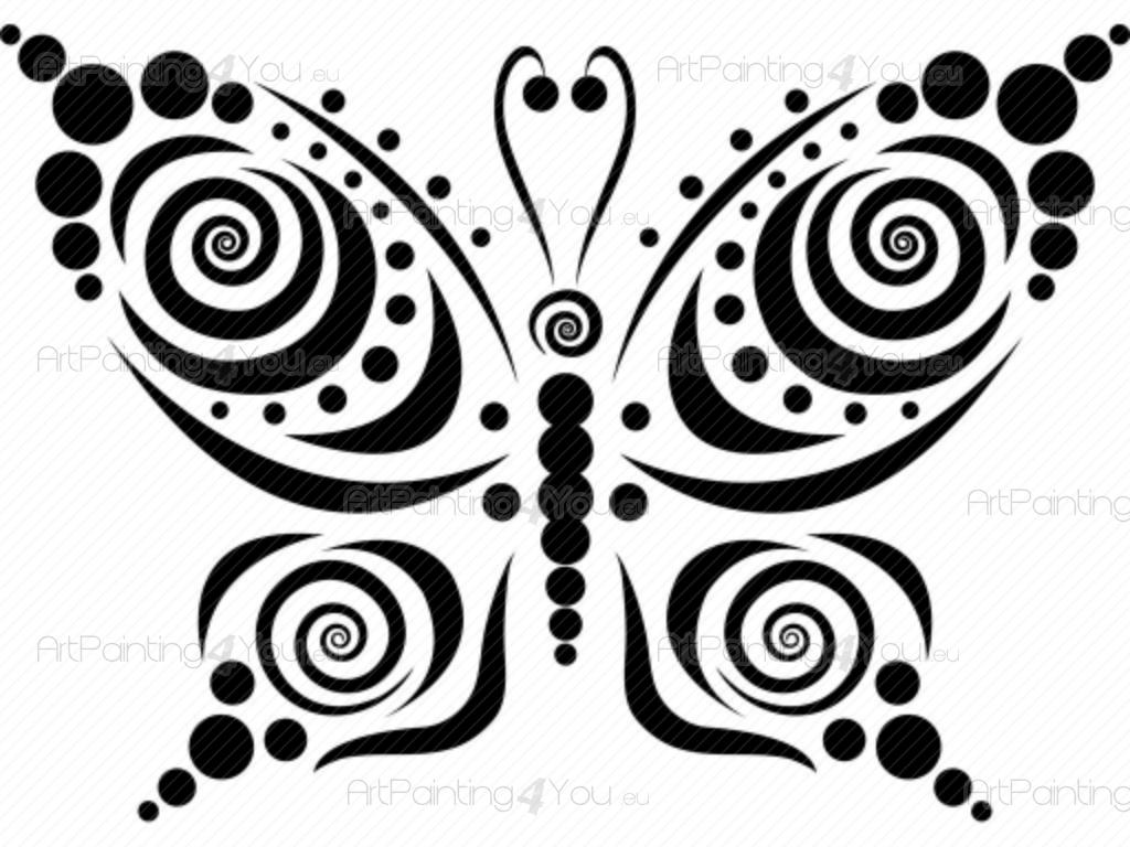 wall stickers abstract abstract butterfly design 1912en