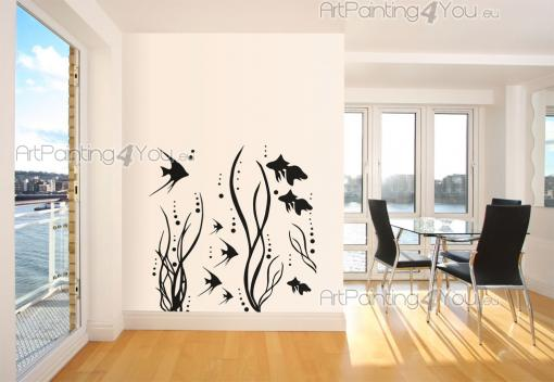 Fisk - Wallstickers Dyr