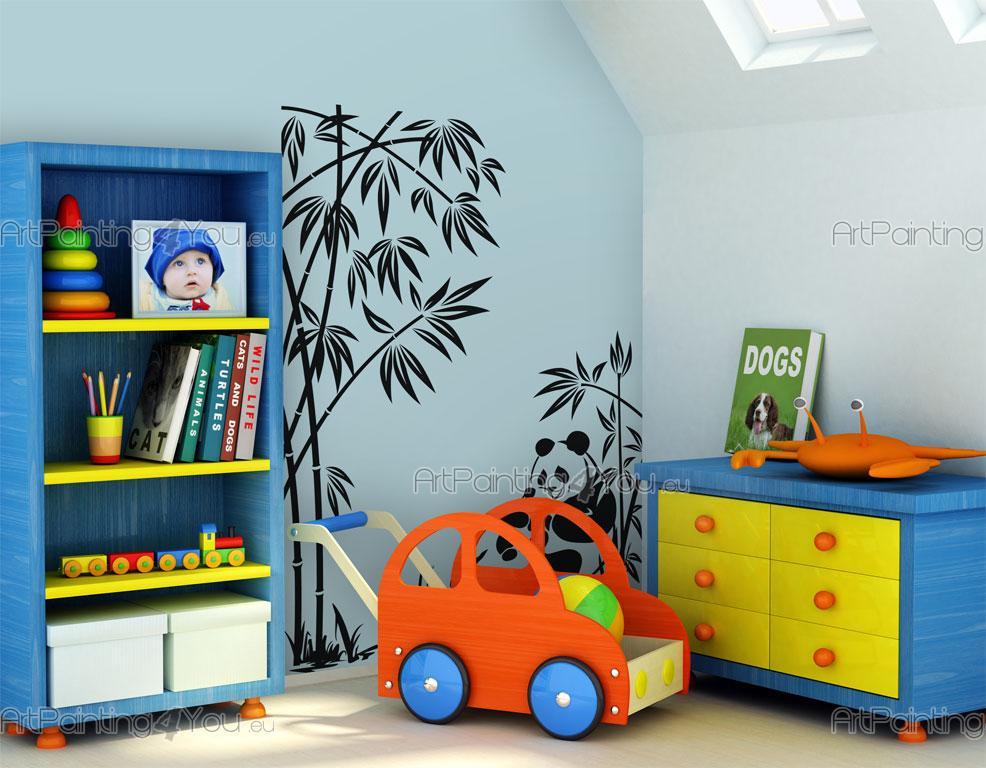 wandtattoo wandsticker kinderzimmer pandab r 901de. Black Bedroom Furniture Sets. Home Design Ideas