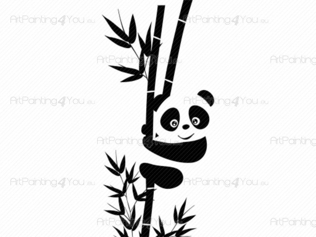 Panda bear wall decals high resolution photos