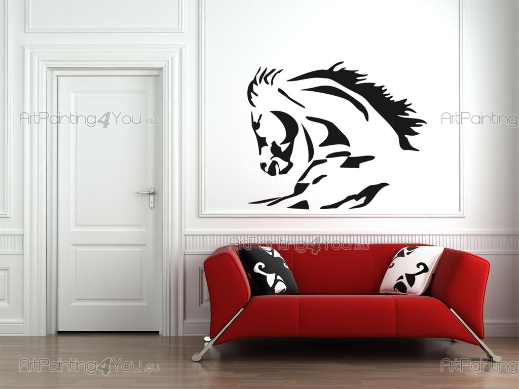 Stickers pared caballo vdan1013es for Stickers decorativos pared