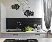Kitchen Wall Stickers - Wall stickers. Would you like to surround yourself with all kinds of natural elements while you eat or work in the kitchen? Get these decals of two be...