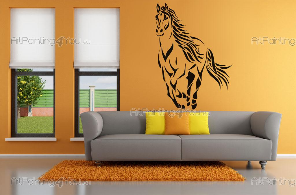 Stickers pared caballo vdan1028es for Stickers decorativos pared