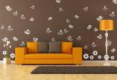 Butterflies Wall Stickers - Wall stickers for the decoration of living rooms and bedrooms. Let the Spring sun and the fragrances of sprouts and flowers fill your room and attract...