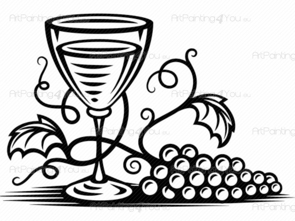 Vinilo Decorativo Uvas