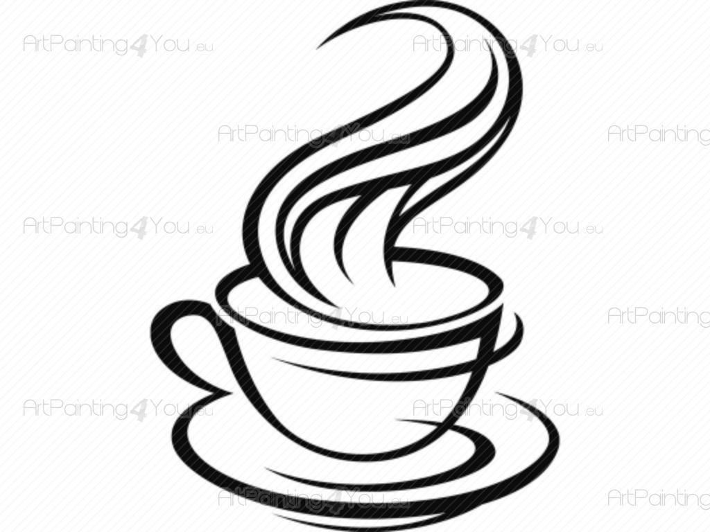 Muurstickers Keuken Koffie : Muurstickers Keuken Koffie (1683nl)