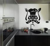 Chef - Kitchen Wall Decals