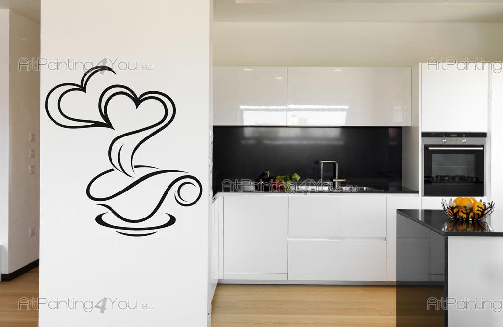 adesivi murali caff vdc1011it