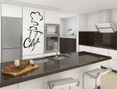 Kitchen Wall Stickers - The world of gastronomy is a very competitive one! Prepare yourself and apply somewhere in the kitchen wall stickers to encourage you, like this one w...
