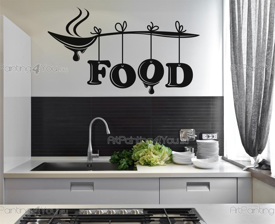 Adesivi Murali Cucina Posate | ArtPainting4You.eu® | (VDC1022it)