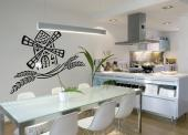 Wheat - Kitchen Wall Decals