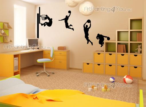 Basketball Player (Kit) - Sport Wall Stickers
