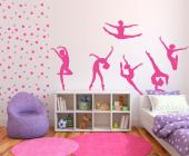 Ballett (Kit) - Wallstickers Musikk & Dans