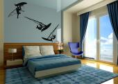 Windsurf (Kit) - Wallstickers Sport