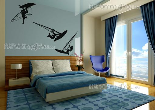 Windsurf (Kit) - Sport Wall Stickers