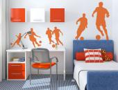 Football Players (Kit) - Sport Wall Stickers
