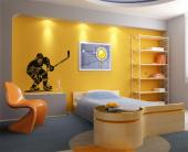 Hockey Player - Sport Wall Stickers
