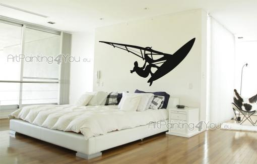 Windsurf - Wallstickers Sport