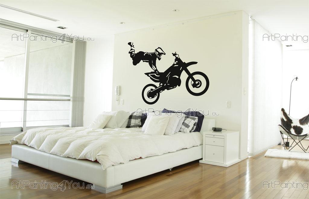 Vinilos Decorativos Motocross.Vinilos Decorativos Motocross Artpainting4you Eu
