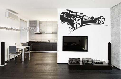 Sport Wall Stickers - Wall decals for F1 enthusiasts! Automobilistic sports drive crowds wild with roaring cars and the smell of burnt rubber and gasoline. Go and decorate ...