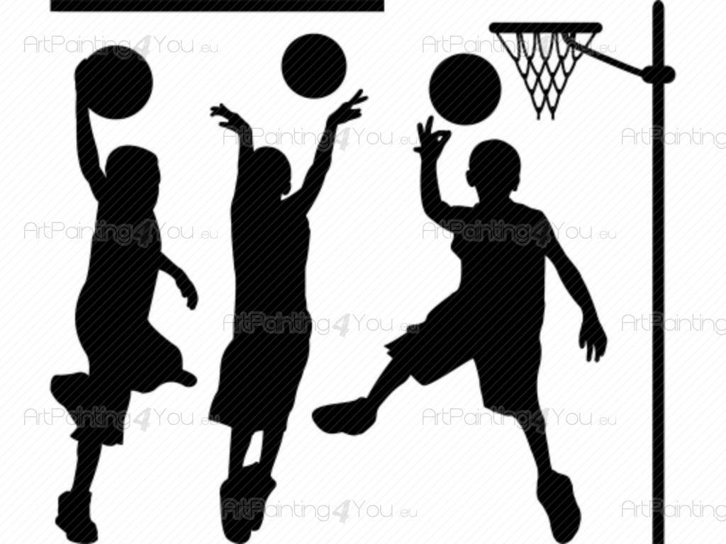 Attraktiv Wandtattoo Basketball Galerie Von Babyzimmer - Ist Eine Sehr Beliebte Sportart