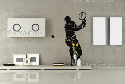 Tennis Player - Sport Wall Stickers